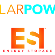 solar power energy storage logo